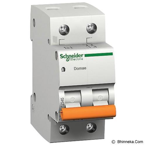 SCHNEIDER ELECTRIC MCB Domae 2 Kutub [DOM11231SNI] - Miniature Circuit Breaker / Mcb